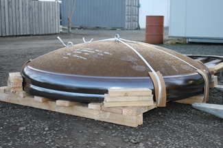 Mild Steel Packaged Domes