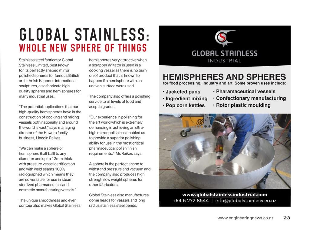 Spheres & Hemispheres