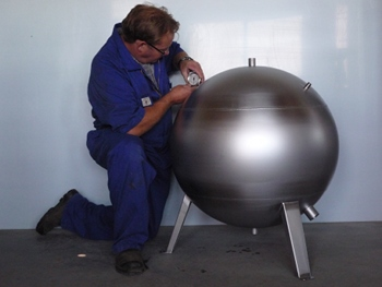 Global Stainless Industrial Spheres